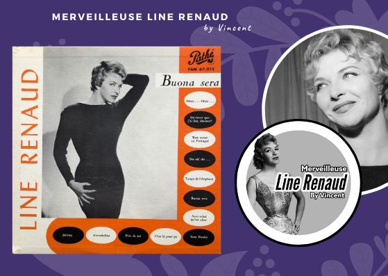 33 TOURS: 1959 Pathé - PAM67015 - Line Renaud Buona Sera (Canada)