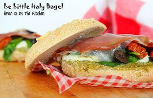 """Bagel """"Little Italy"""""""