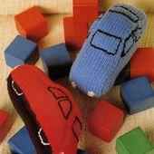 Tutoriel tricot - Voitures - Passionnement Créative