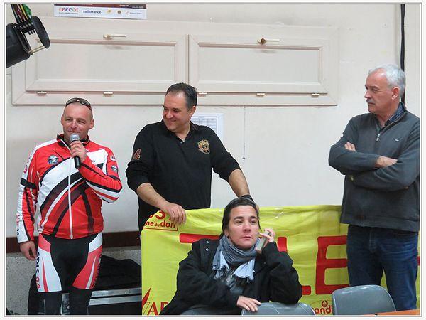 Saint André les Alpes : Les pompiers, cyclistes volontaires pour le Télethon 2017