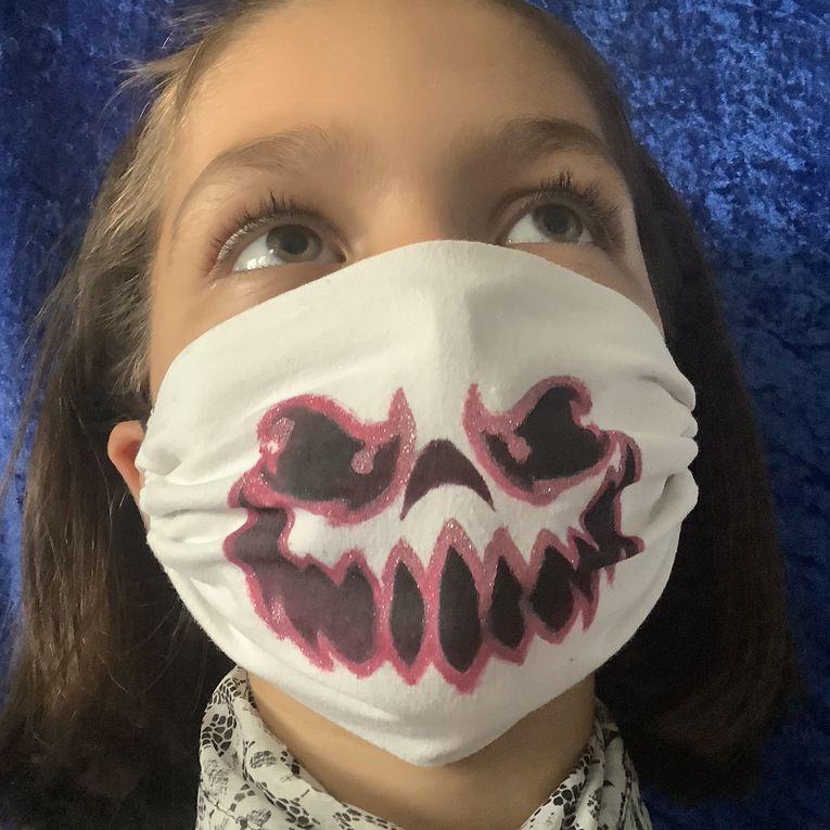 Masque alternatif : nouveau masque tête de mort