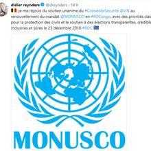 Paix civile en RDC #6 : Didier Reynders coche 3 cases à l'encre de chine : transparente, crédible et inclusive