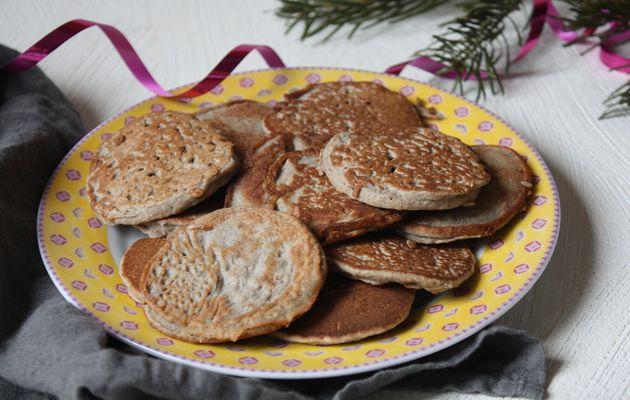On ne va pas attendre Noël prochain pour manger de nouveau des blinis… (sans gluten & sans lactose)