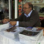 Dédicace de Manuel Rispal au Rouget-Pers