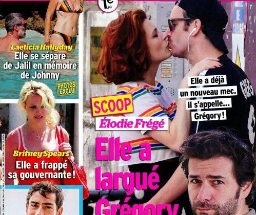 La une des hebdos people ce vendredi : Élodie Frégé, Charlotte Gainsbourg, Florence Foresti.
