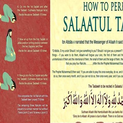 La Prière de l'Exaltation : (Salâtat-tasbîh)