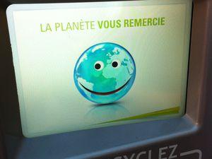 Canibal la machine Fun qui trie et recycle … #1 de mes startup préférées d'Osons la France 2014.
