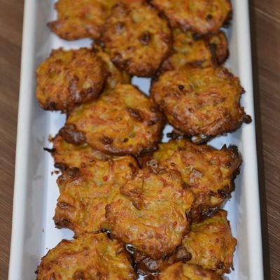 Cookies aux carottes noix et cumin