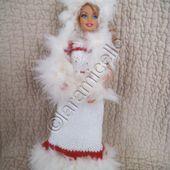 tuto gratuit barbie: robe barbie princesse des neiges - laramicelle