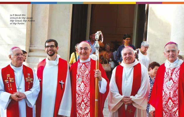 Reportage : l'ordination de Benoit Blin à Marseille