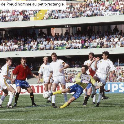 Coupe du Monde 1990 en Italie, Groupe 5: Belgique - Espagne