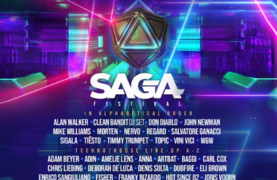 Tiësto date | SAGA Festival | Bucharest, Romania - september 10/11/12, 2021
