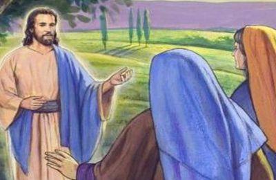 Lundi de Pâques Mt 28 et Ac 2