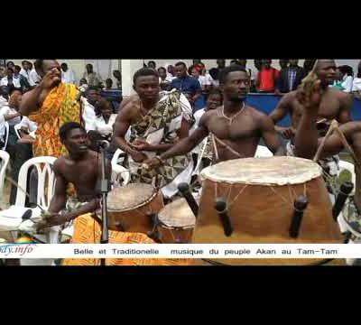 Côte d'Ivoire- Une annonce traditionnelle au Tam-tam Akan