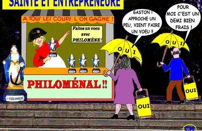 CONVERSATIONS AVEC PHILOMÈNE (2) - du 24 JUILLET 2016 (J+2776 après le vote négatif fondateur)