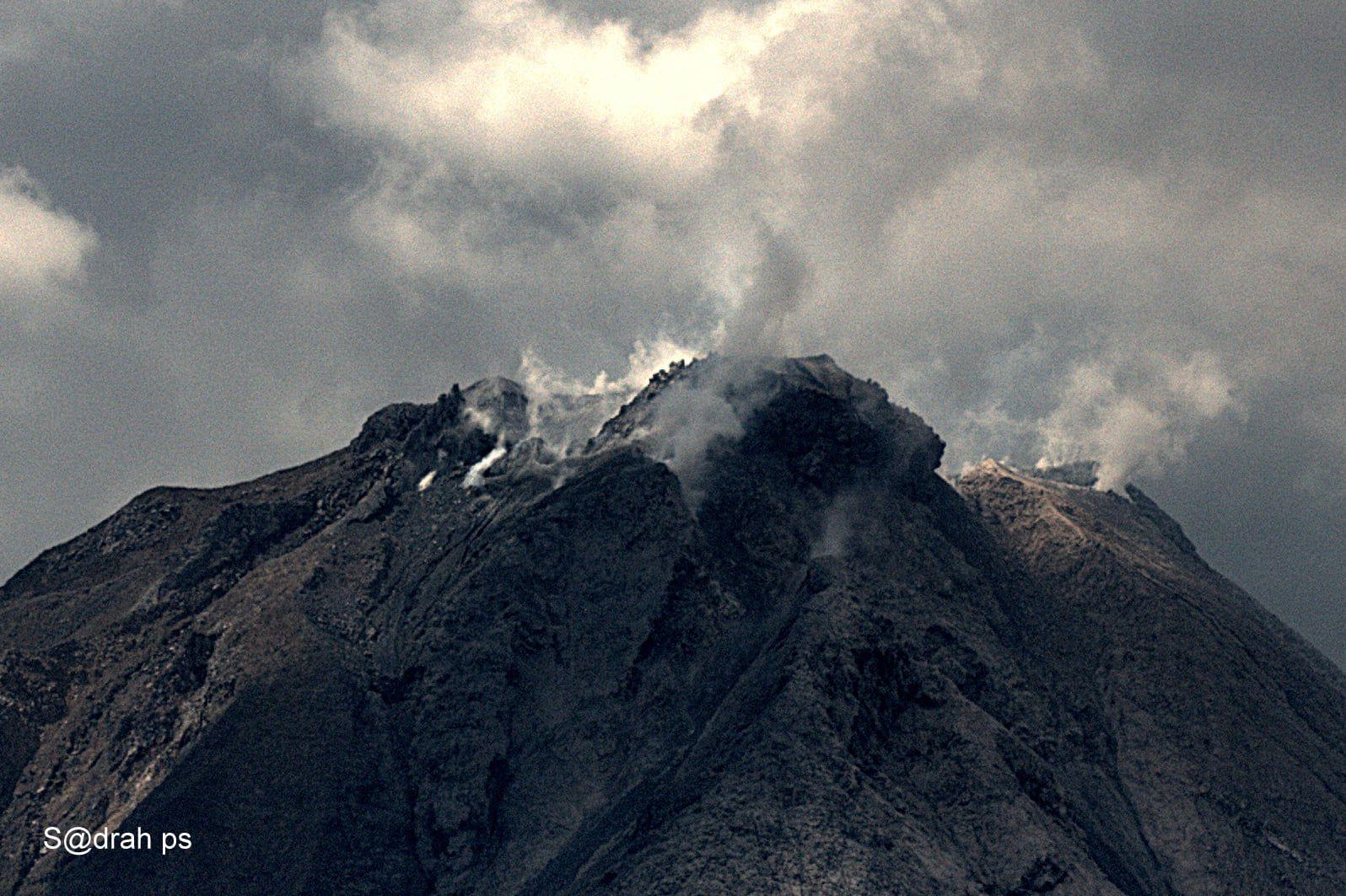 Sinabung summit - photo Sadrah Peranginangin 02.13.2021