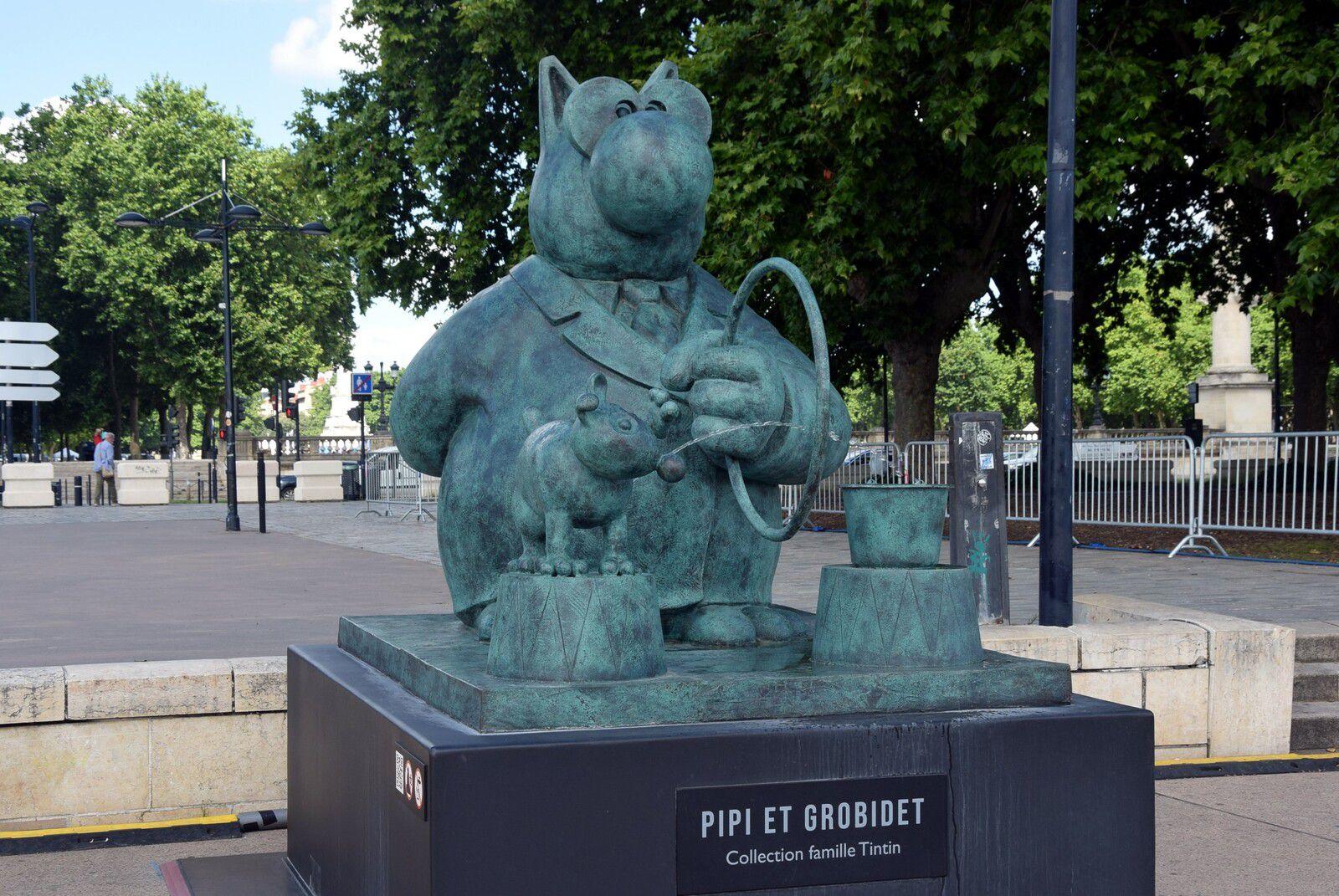 Petite sortie estivale ! «Le Chat déambule».