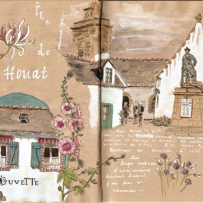 Enez Houad... île de Houat - le bourg