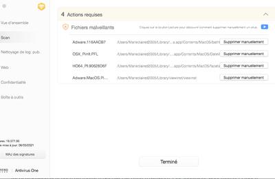 Adware informatique incompatible et inacceptble  pour les chef entreprises en reseau multiple