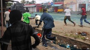 BBC - Deadly Burundi protests after president seeks third term