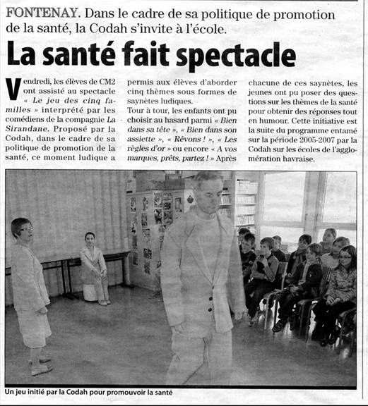 Spectacles interactifs