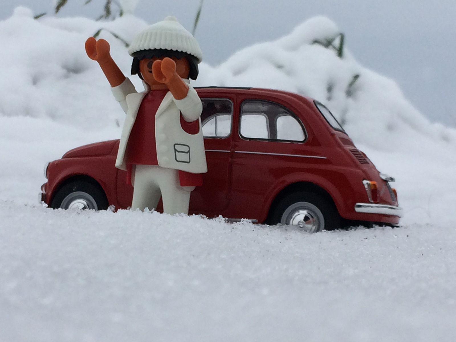 Tonio di Napoli n'aime pas la neige