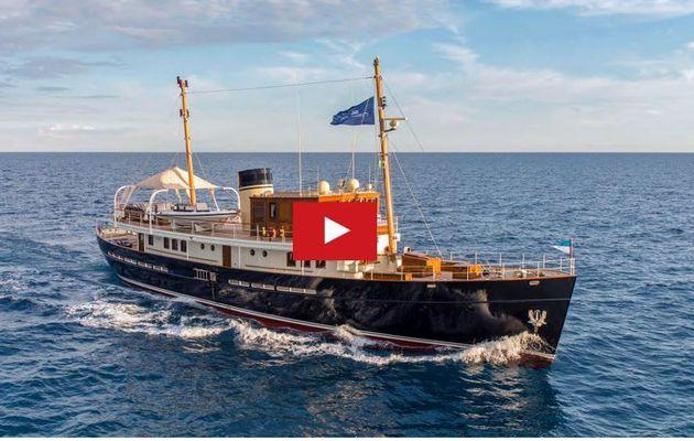 VIDEO - 2.39 minutes de Bonheur à bord de Taransay, incroyable motoryacht du chantier Rossinavi