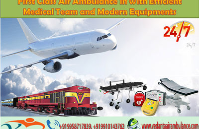 First Class Air Ambulance in Patna with Efficient Medical Team and Modern Equipment