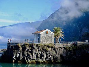 Seixal, un petit village plein de charme où j'ai aussi profité de leur piscine naturelle....