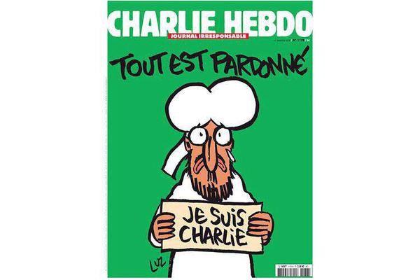 Découvrez la Une de Charlie Hebdo à paraître mercredi