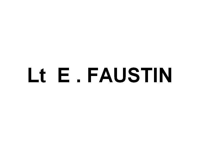 Lt  E. FAUSTIN , vedette des sapeurs pompiers de Hyères