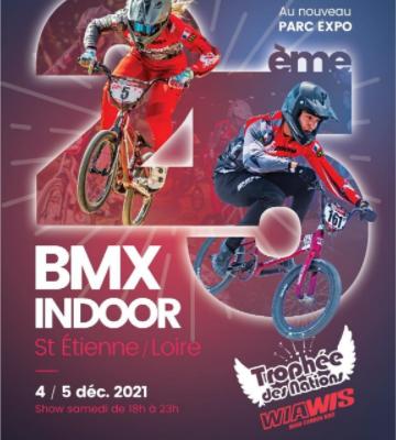 Inscriptions à l'indoor de Saint-Etienne, 4 et 5 décembre 2021
