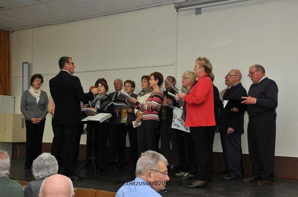 La chorale des Médiévales de Guéberschwihr