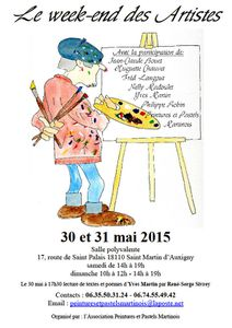 Le week-end des Artistes 2015