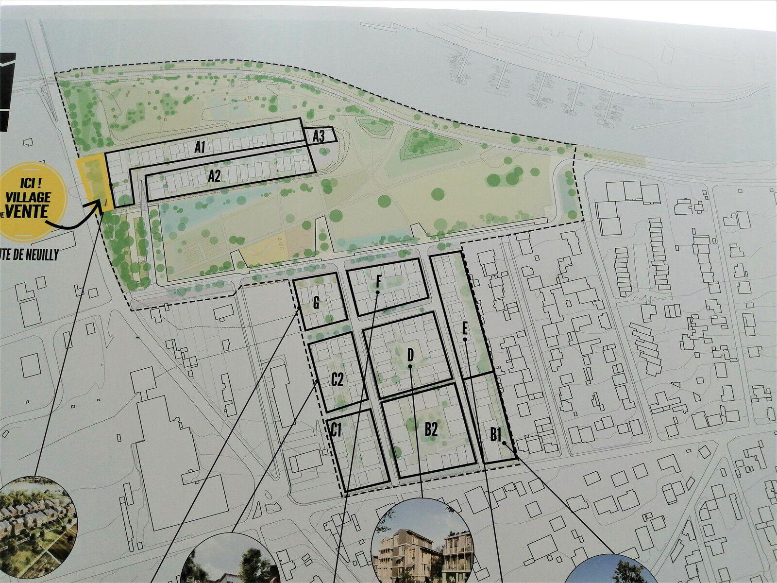 Eco-quartier/Bords de Marne : comment circuler ?