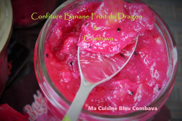 Confiture de Banane, Pitaya & Combava