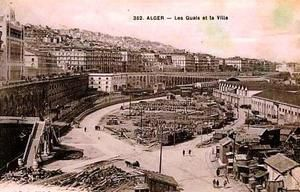 Le port d'Alger en construction ?