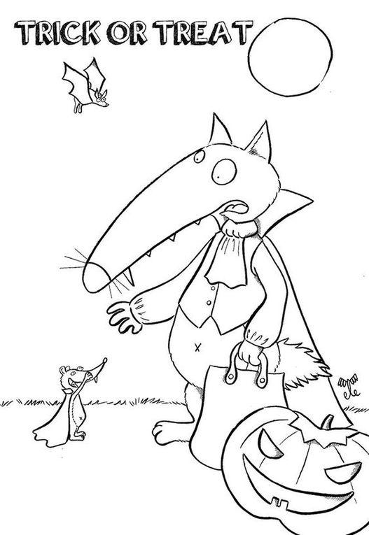 10 coloriages du Loup #4 [Coloriage][Activité][Loup][MS][GS][CP][Élémentaire]