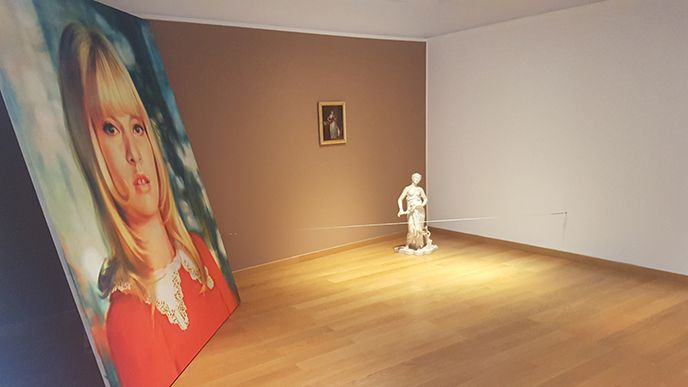 Nina Childress, Cc Galerie Bernard Jordan Paris.