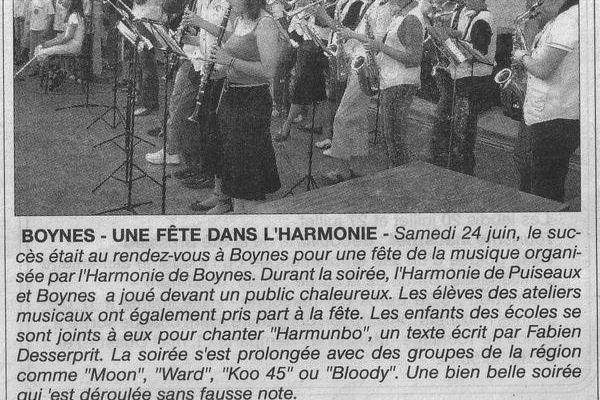 Bilan Fête de la musique