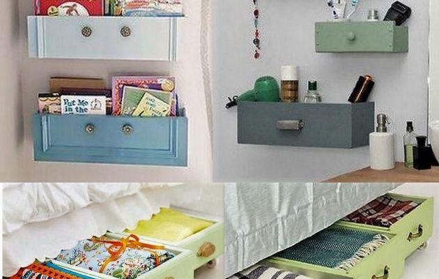 Gardez et recyclez vos vieux tiroirs