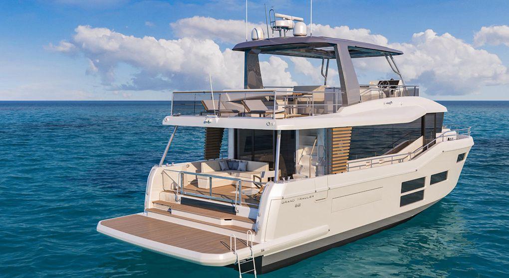 Le Bénéteau Grand Trawler 62 dont le lancement est prévu en 2021