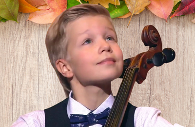 Very nice, beautiful .. !  Vladimir Tretyakov 12 ans. cello.
