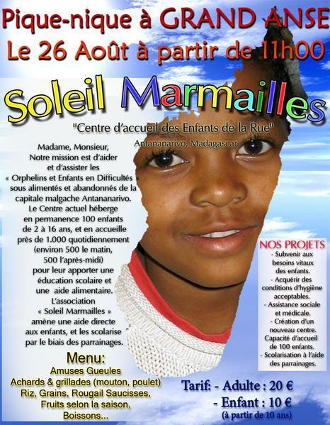 Pique Nique à Grand Anse le 26 août 2007