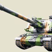 Automoteur AMX Au F1 de 155mm GCT