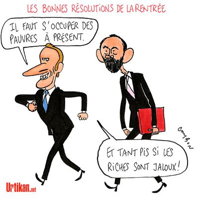 « 100 balles et un Mars » : Macron et Castex nous enfument ! Suppression des taxes, les grands patrons doivent payer !