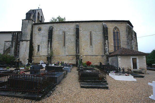 Diaporama église fortifiée  de Saint Martin de Hinx