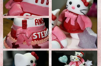 Gateau Hello Kitty 3D !!!