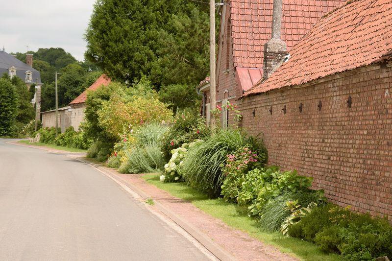 """Dans la plupart des """"village fleuris"""" les rues sont bordées de belles plantations. C'est un vrai plaisir de s'y promener. Et ça change des sempiternels bacs de pétunias que l'on voit chez nous !"""