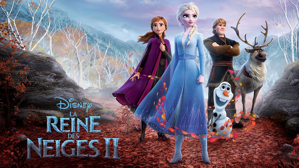 """La Reine des Neiges II "" (© 2019 Disney. All Rights Reserved.)"